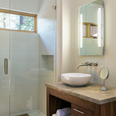 Contemporary Bathroom by Shelterwerkes Architecture