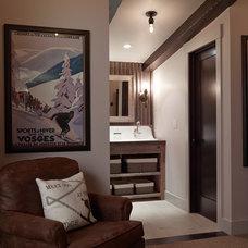 Rustic Bathroom by Artistic Designs for Living, Tineke Triggs