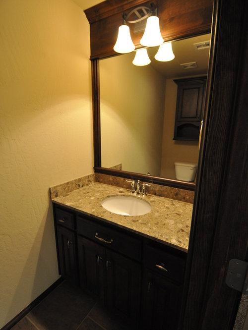 Almond Bathroom Design Ideas Remodels Photos With Slate Floors