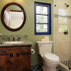 Rustic Bathroom by Gary J Ahern, AIA - Focal Point Design
