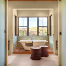 Rustic Bathroom by Phillips Development