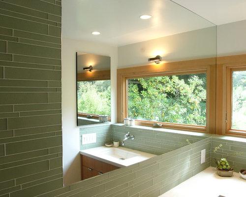 SaveEmail - Best Green Glass Tile Backsplash Design Ideas & Remodel Pictures