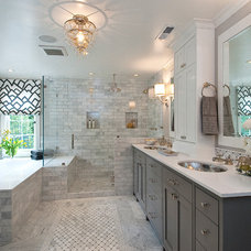 Traditional Bathroom by Tamara Mack Design