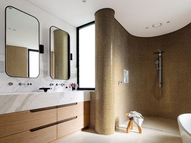 Contemporary Bathroom by Porebski Architects