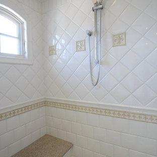 Tan And White Bathroom Houzz