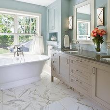 Traditional Bathroom by JALIN Design, LLC
