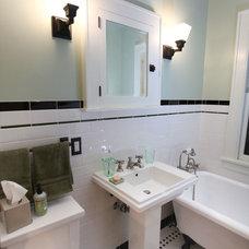Craftsman Bathroom by Elizabeth Bland