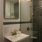 Black Bathroom Eclectic Bathroom Los Angeles