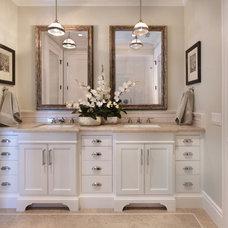 Beach Style Bathroom by Jodi Fleming / Fleming Distinctive Homes