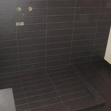 Contemporary Bathroom by Tarkus Tile, Inc.