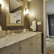 Traditional Bathroom by GreenTex Builders LLC