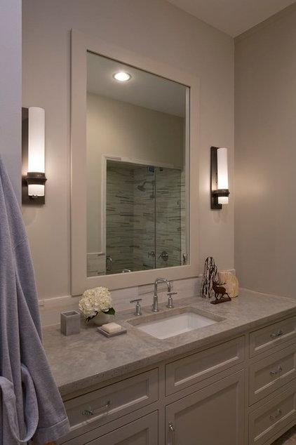 Contemporary Bathroom by Laura Roberts Design