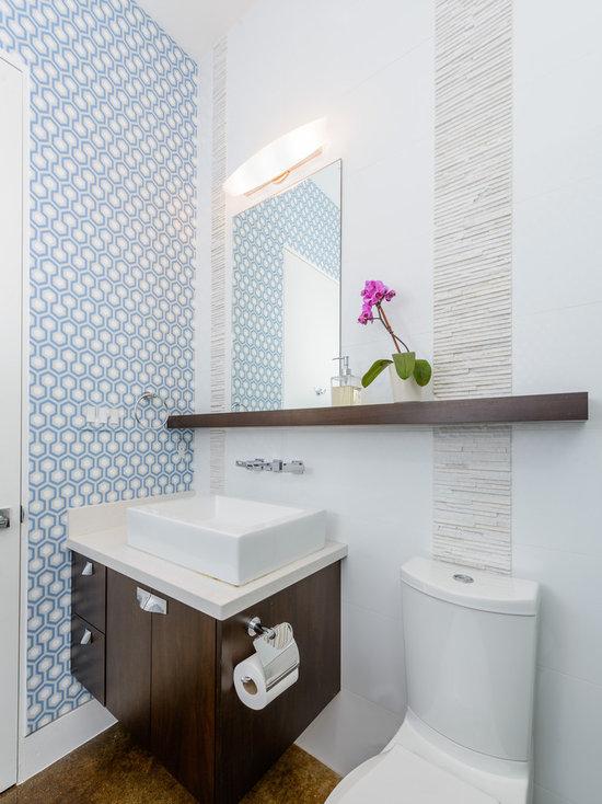 Lovely Bathroom Floating Shelf