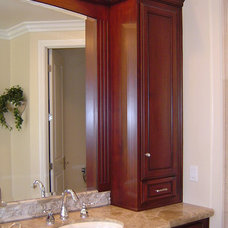 Traditional Bathroom by Stairs And Trim