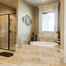 Traditional Bathroom by Tatum Building Corp