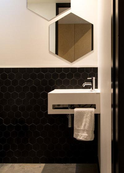 Modern Bathroom by Box™ Design & Build