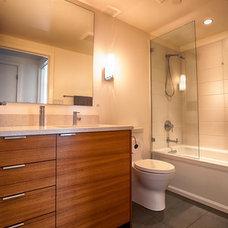 Contemporary Bathroom by Semihandmade