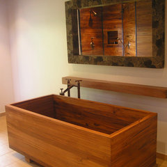 asian bathroom by Bath in Wood of Maine llc