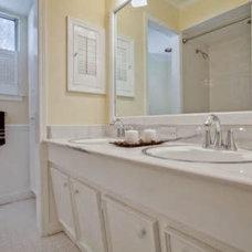 Traditional Bathroom by Design by KETI