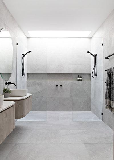 Contemporary Bathroom by Luxbuilt