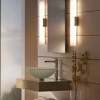 Contemporary Chic Crystal Bathroom Wall Sconce Lighting