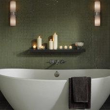 Contemporary Bathroom by Littman Bros Lighting
