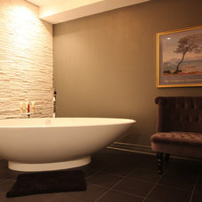 Contemporary Bathroom by OakWood Renovation Experts