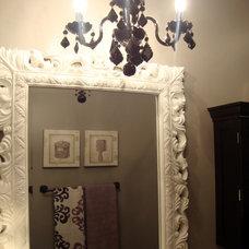 Transitional Bathroom by Nisha Tailor Interior Design.LLC