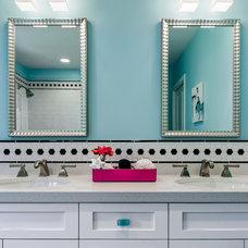 Contemporary Bathroom by Sabrina Alfin Interiors, Inc.