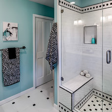 Contemporary Bathroom by Sabrina Alfin Interiors, Inc.