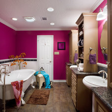 Eclectic Bathroom by Cindy Aplanalp-Yates & Chairma Design Group