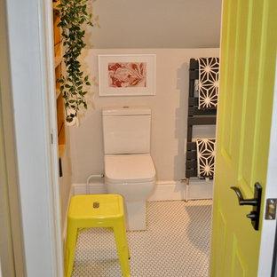 Foto di una stanza da bagno nordica