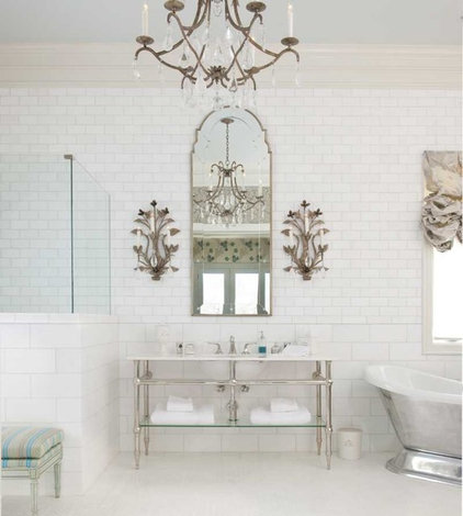 Traditional Bathroom by CDA Interior Design