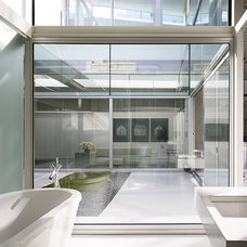 Industrial Bathroom by Fougeron Architecture FAIA