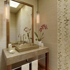 Modern Bathroom by ScavulloDesign Interiors
