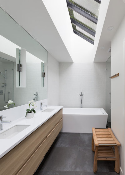 Contemporary Bathroom by Vallely Architecture