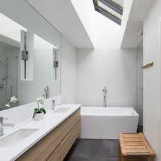 Contemporary Bathroom by Kevin Vallely Design