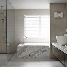 Modern Bathroom by Christopher Elliott Design