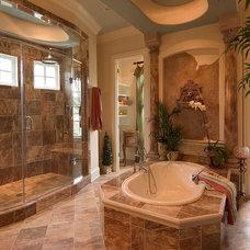 Traditional Bathroom by Mitchell Barnett Architect, PC