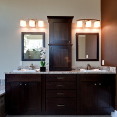 contemporary bathroom by Teri Turan