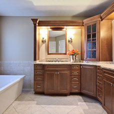 Traditional Bathroom by Turan Designs, Inc.