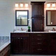Contemporary Bathroom by Turan Designs, Inc.