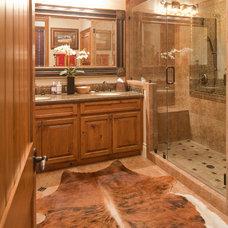 Traditional Bathroom by Texana Builders