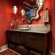 Traditional Bathroom by Texana Builders