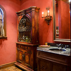 Traditional Bathroom by Brent Gibson Classic Home Design