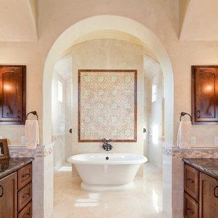Tuscan bathroom photo in Austin