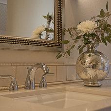 Mediterranean Bathroom by Prideaux Design