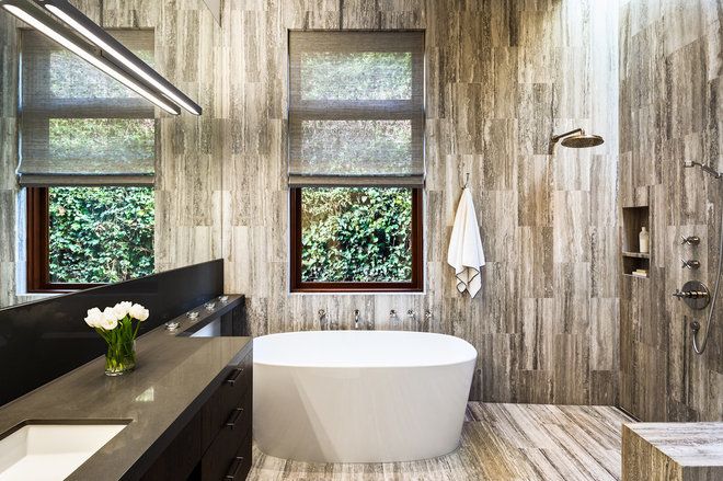 Contemporary Bathroom by Neumann Mendro Andrulaitis Architects LLP