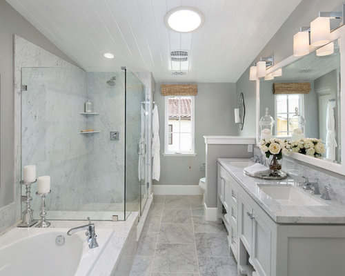 Traditional master bathroom design ideas remodels photos for Traditional master bathroom ideas
