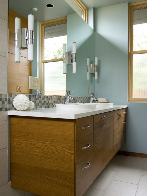 Bathroom Lights Mounted On Mirror mirror mount lighting | houzz